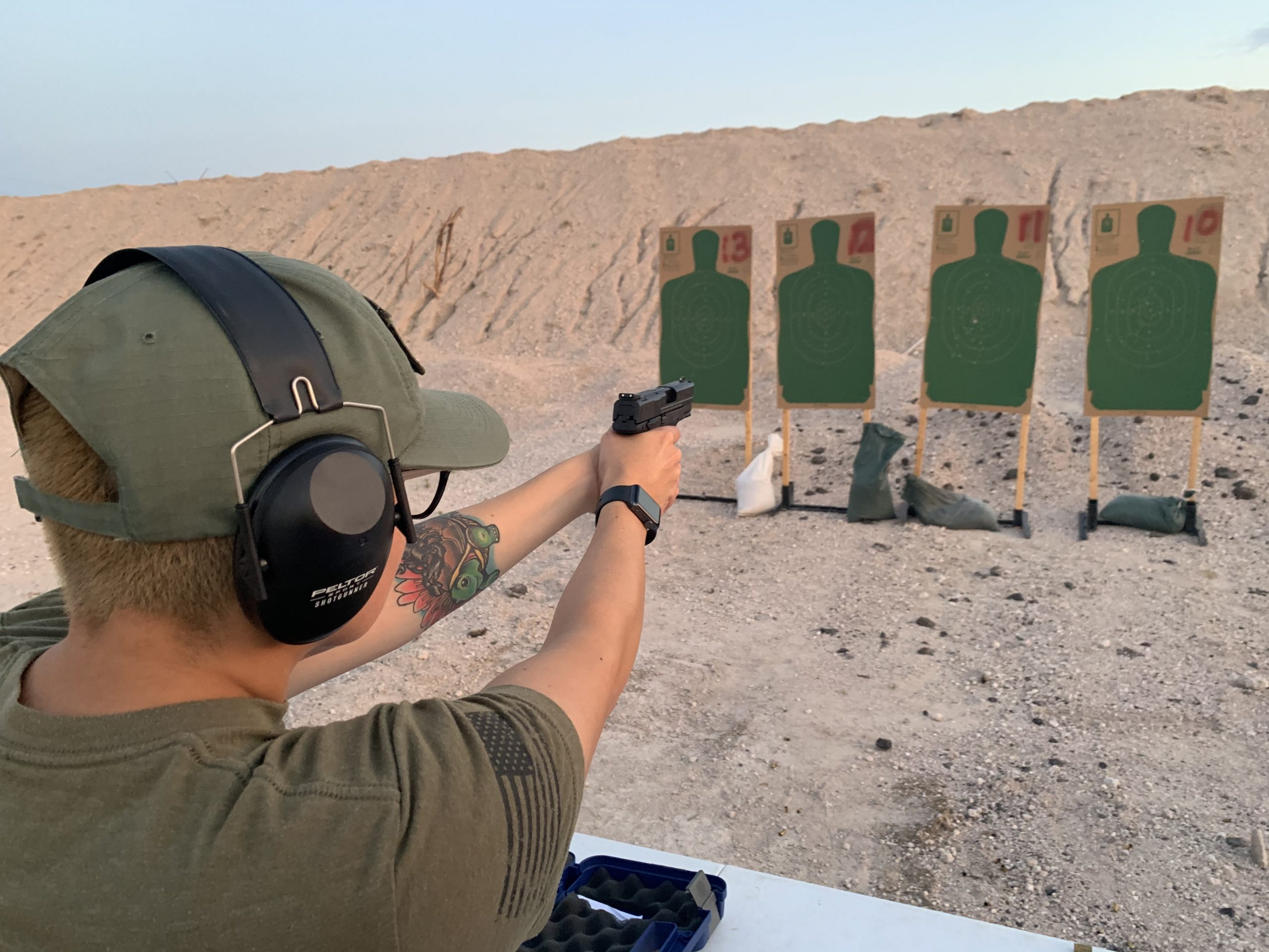 LTC Range Instruction and Proficiency Demonstration ONLY